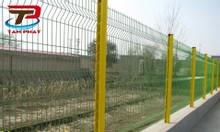 Hàng rào lưới thép mạ kẽm, hàng rào chắn sóng ngang thân phi 5, phi6