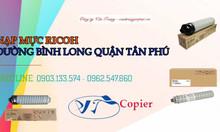 Nạp mực máy Ricoh đường Bình Long quận Tân Phú