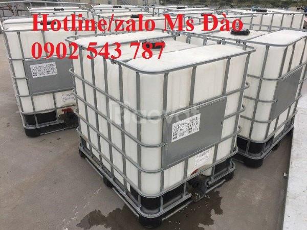 Ibc tank nhựa 1000 lít, bồn đựng thực phẩm