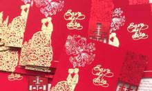 In thiệp cưới đẹp, giá rẻ tại Bắc Ninh, Bắc Giang, free ship