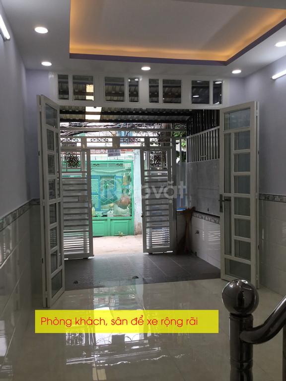 Nhà 2 mặt tiền hẻm thông Tôn Thất Thuyết, kế bên công viên, sổ riêng