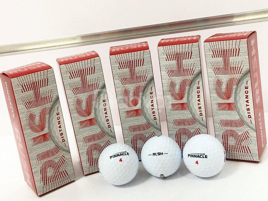 Bán bóng golf mới Pinnacle cấu tạo 2 lớp chất lượng cao
