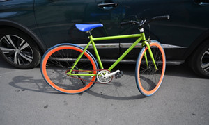 Xe đạp Fixed Gear Leio Asama