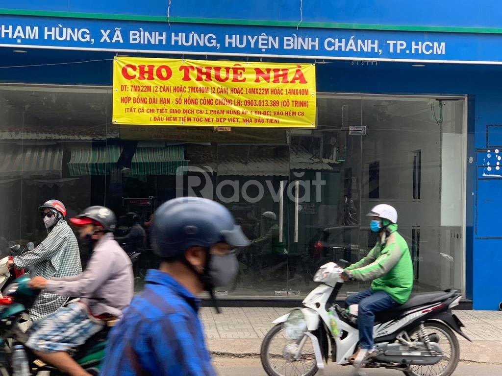 Cho thuê mặt bằng kinh doanh đường Phạm Hùng 231m2