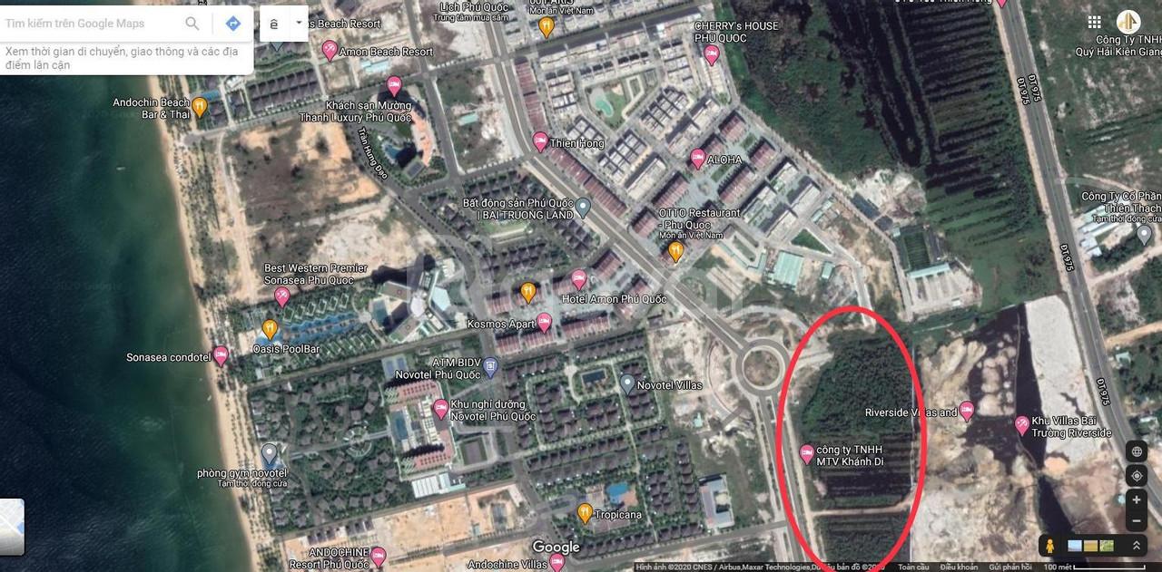 Suất nội bộ căn shopvillas mặt tiền đường tỷ đô, Bãi Trường Phú Quốc