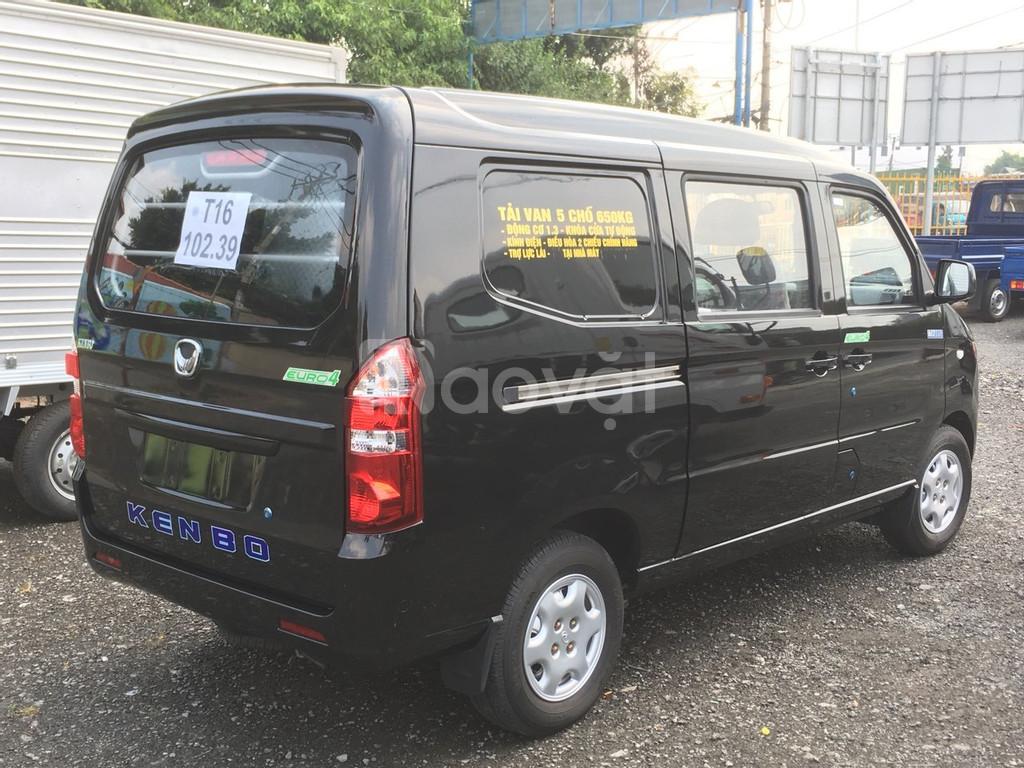 Xe tải van Kenbo 2 chỗ và 5 chỗ chạy thành phố 24/24