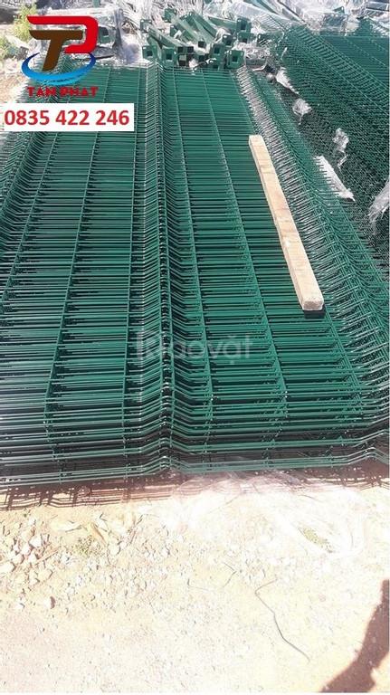 Hàng rào lưới thép - hàng rào mạ kẽm - hàng rào kho - hàng rào di động