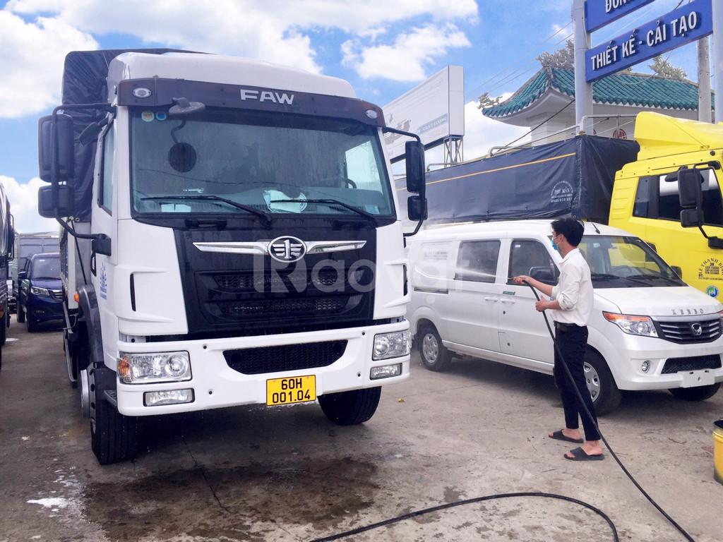 Xe tải 8 tấn giá rẻ thùng dài, xe tải faw 2020 - 8 tấn thùng dài 8m