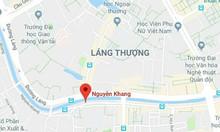 Bán nhà mặt phố Nguyễn Khang, quận Cầu Giấy, 135m2, 8 tầng thang máy
