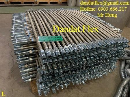 Cung cấp số lượng lớn ống mềm cho đầu phun chữa cháy DN25 dài 1.2m