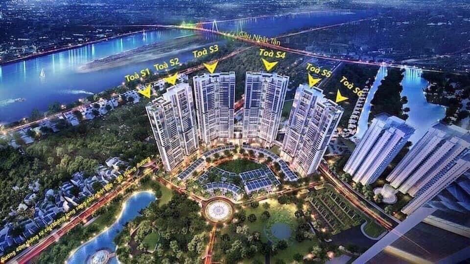 Nhận nhà ở ngay 2pn 2wc, KĐT Ciputra, 3,6 tỷ