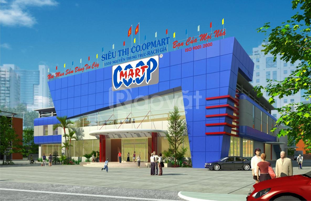Cho thuê 1.300m2 mặt sàn mới để làm siêu thị mặt đường Xã Đàn