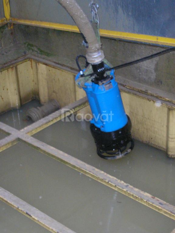 0972.836.116 Giá bơm chìm nước thải Tsurumi KRS2-100, 6kw hút bùn cát