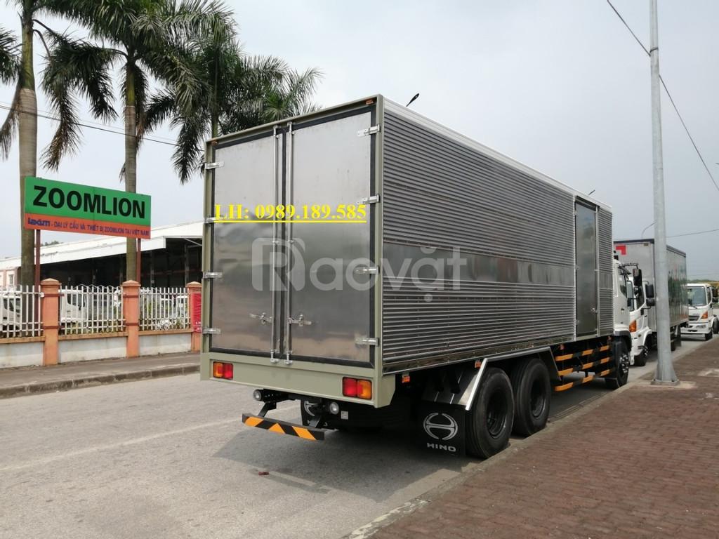 Xe tải Hino 15 tấn mui bạt, thùng kín, thùng lửng ở Bắc Giang