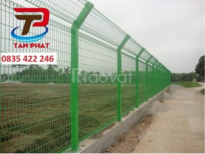 Hàng rào lưới thép chấn sóng, hàng rào lưới thép mạ kẽm, hàng rào mẫu