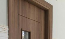 Cửa nhựa giả gỗ cao cấp giá rẻ cho công trình xây dựng
