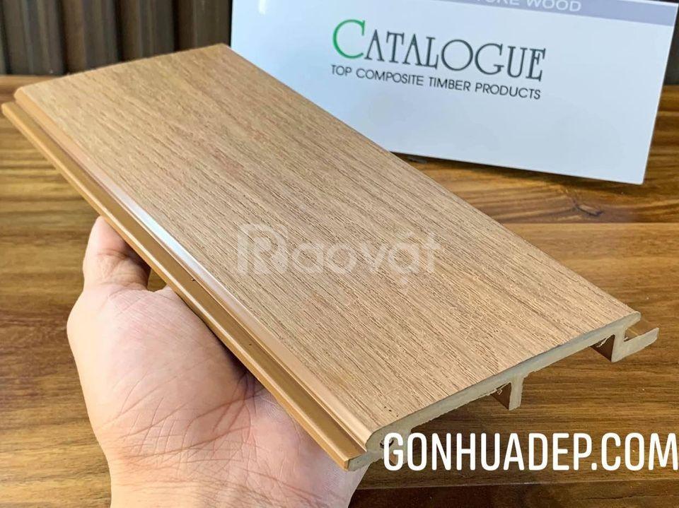 Gỗ nhựa Composite - giải pháp hoàn hảo cho người yêu kiến trúc gỗ