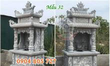 Hình ảnh mẫu miếu thờ thần linh đẹp bằng đá 32