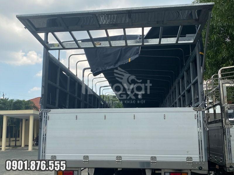 Xe tải Isuzu FVR900 thùng bạt dài 7m2 ngân hàng hỗ trợ vay cao