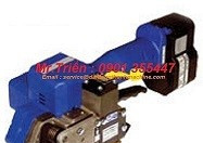 Dụng cụ siết đai pet cầm tay dùng pin P-323 dễ sử dụng