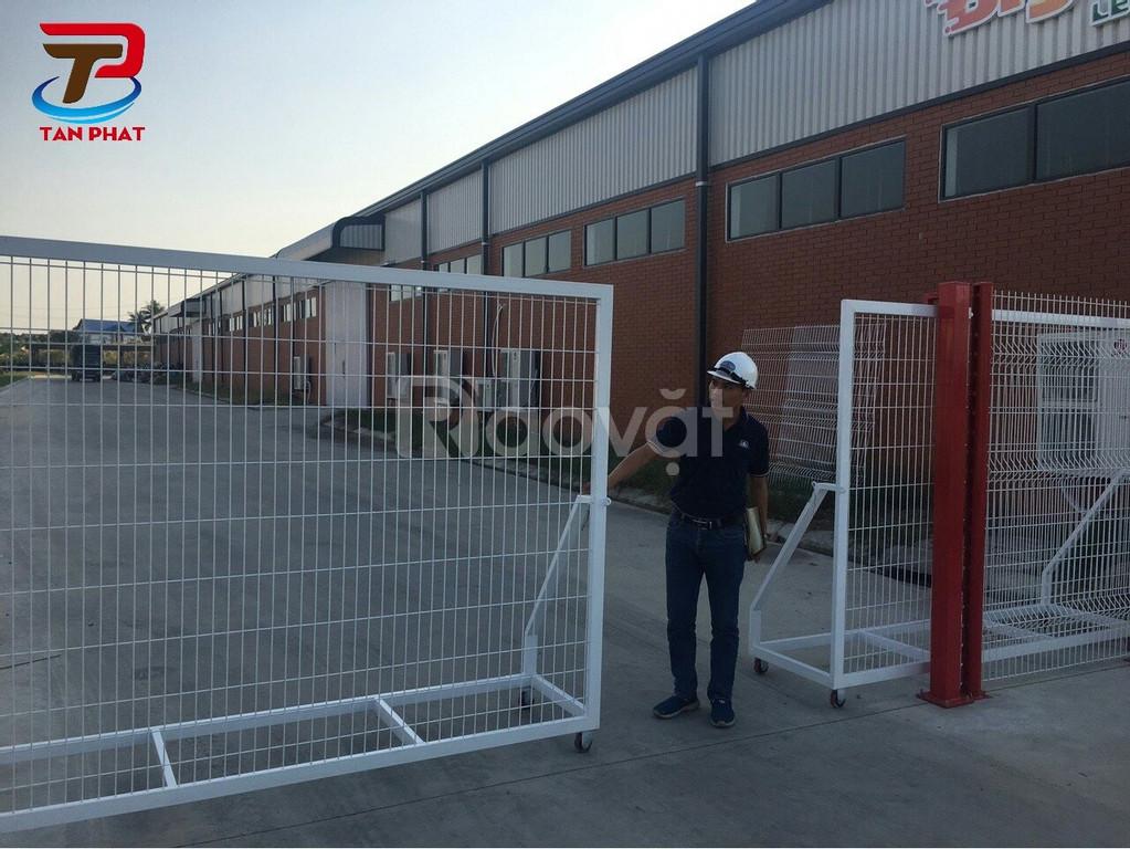 Hàng rào lưới thép hàn chập, hàng rào kho, hàng rào lưới thép