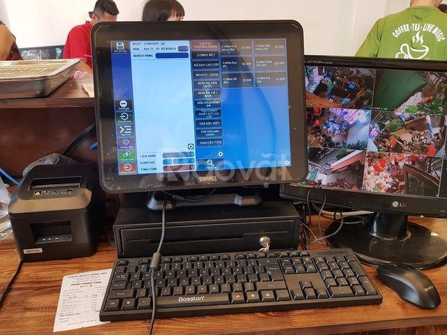 Máy tính tiền cho tiệm thức ăn nhanh giá rẻ tại TP.HCM