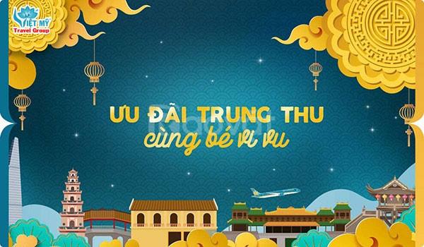 Vietnam Airlines ưu đãi Trung Thu cùng bé vi vu
