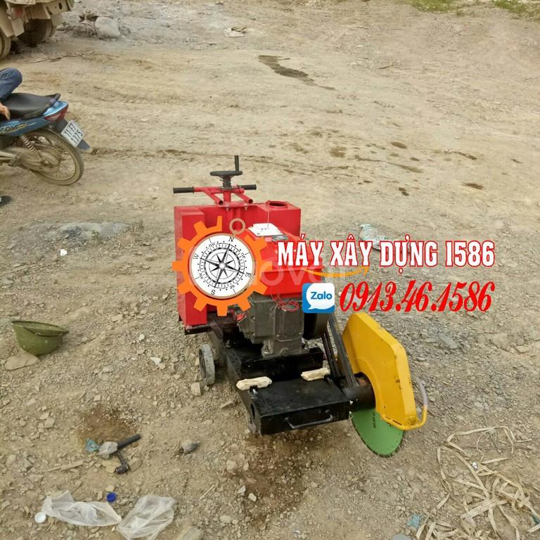 Máy cắt bê tông chạy xăng, chạy dầu diezel