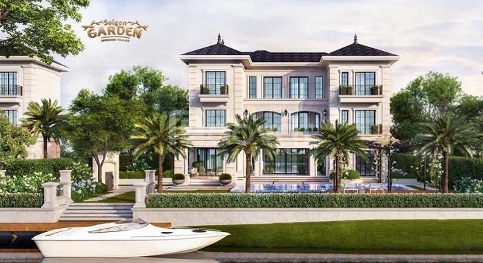 Bán biệt thự quận 9 Saigon Garden Riverside Village Hưng Thịnh