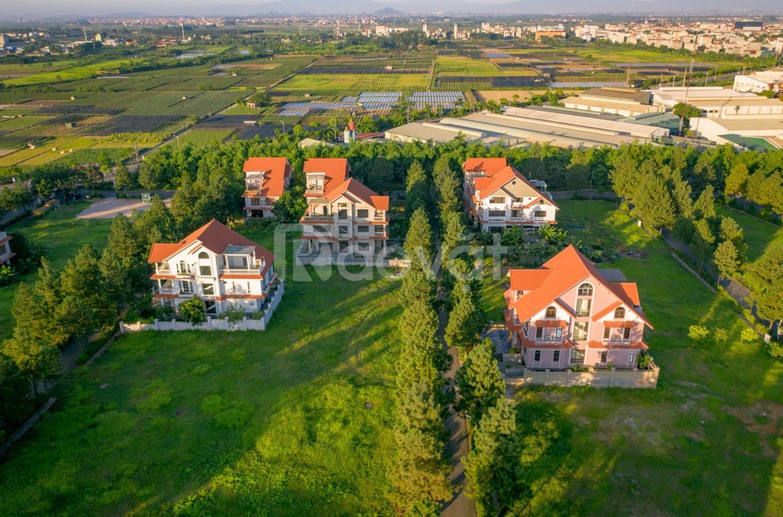 Bán lô đất 200m2 suất ngoại giao biệt thự sinh thái Đan Phượng