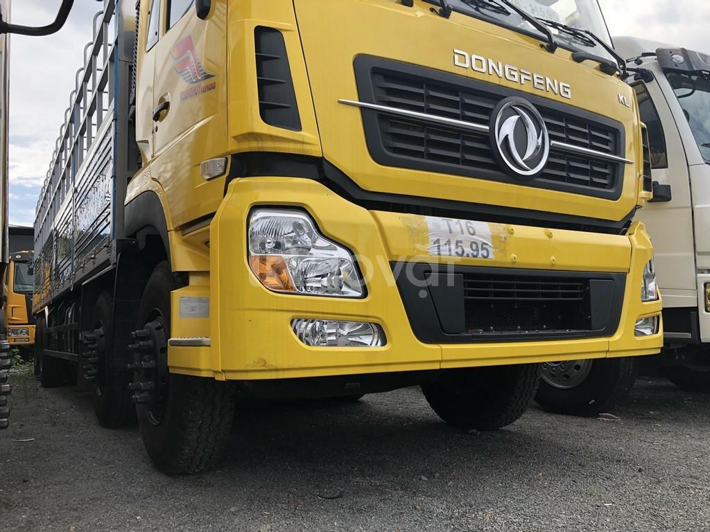 Dongfeng 4 chân tải 17.9T thùng dài 9M5