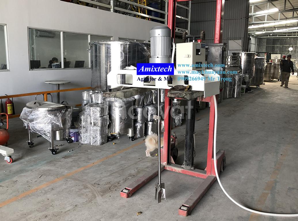 Máy khuấy chuyên dụng dành cho thùng IBC