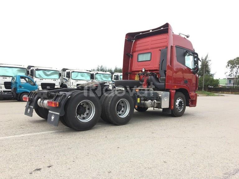 Xe đầu kéo Thaco Auman cầu dầu tại Hải Phòng