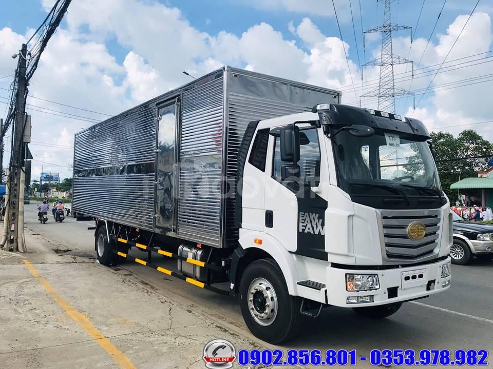 Các tiêu chí để mua xe tải FAW thùng dài tải 8 tấn thùng 9.7 mét