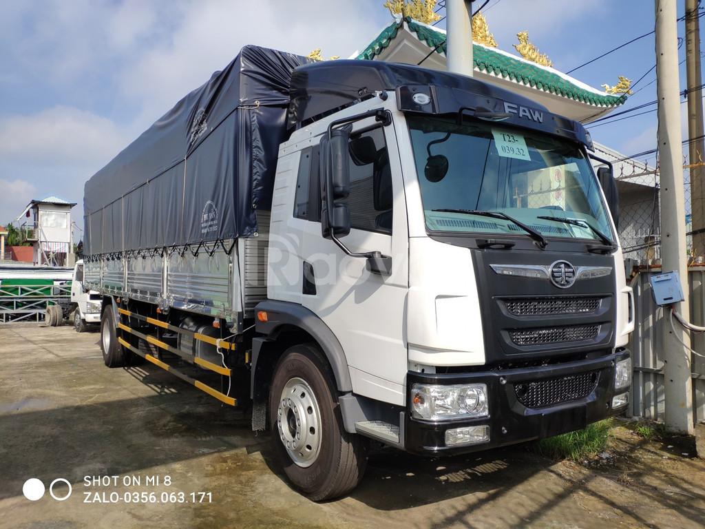Mua xe tải 8 tấn Faw thùng dài trả góp trả trước chỉ 290 triệu