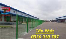 Hàng rào lưới thép mạ kẽm, hàng rào bảo vệ ngăn kho, hàng rào thép