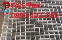 Lưới thép hàn, lưới thép mạ kẽm, lưới thép hàn chập phi 5 ô 150x150