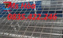 Lưới thép hàn, lưới đổ sàn, lưới đổ bê tông, lưới thép D6 a200x200