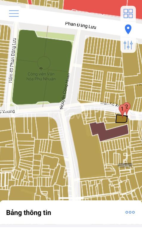 Cần bán gấp nhà ngay công viên Phú Nhuận