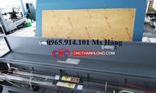 Máy laser tự động cuộn vải, máy laser 1610- 2 đầu cắt