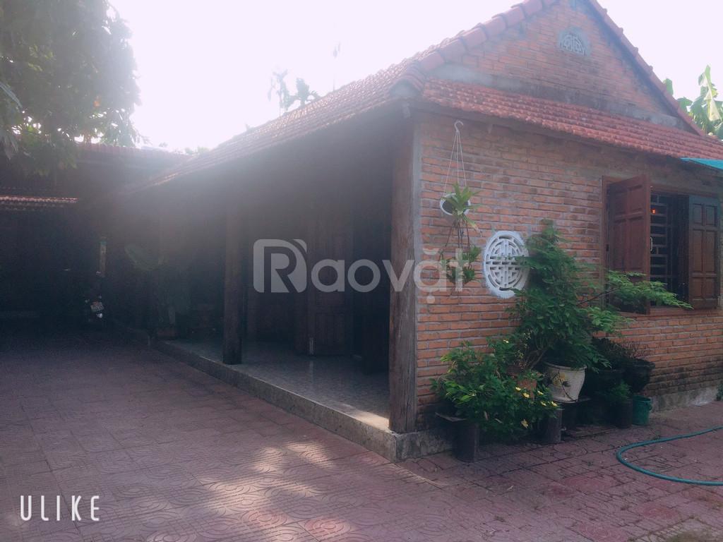 Bán nhà 3 gian gỗ tự nhiên- giả cổ, đã có sổ, giá tốt ở Quảng Ngãi