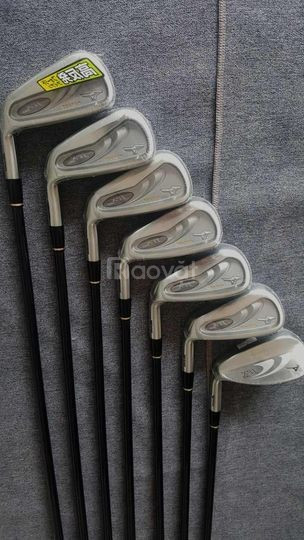 Cần bán bộ gậy golf sắt Mizuno shaft graphite cho nam