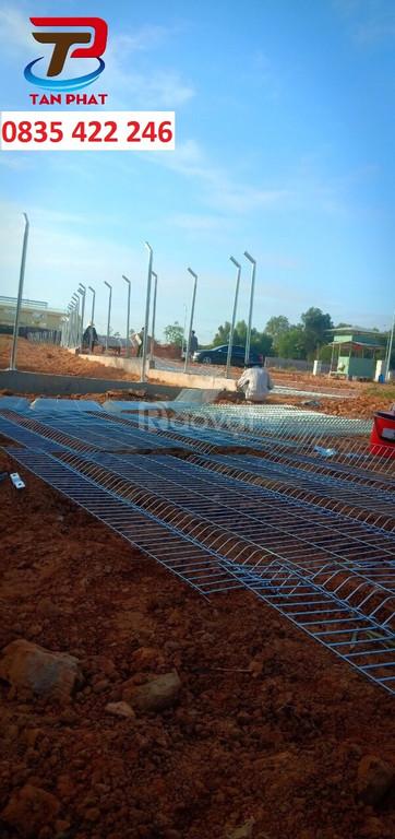 Hàng rào lưới thép, lưới hàng rào, hàng rào lưới thép hàn mạ kẽm