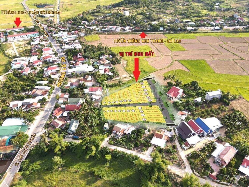 Bán đất phân lô Diên Khánh, Khánh Hòa DT 120m giá 375 triệu