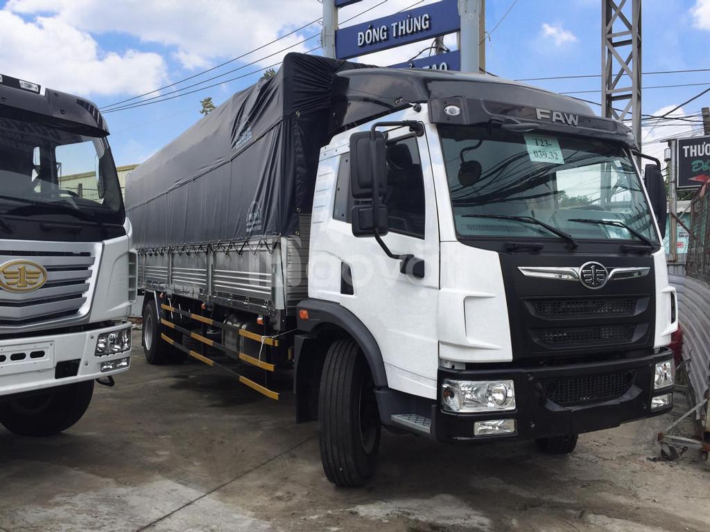 Giá xe tải faw 8 tấn thùng dài 8m| Bán xe tải faw 8 tấn