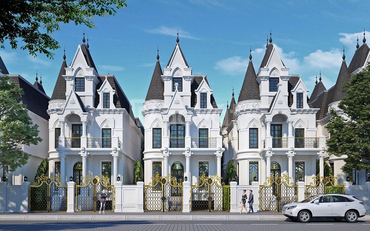 Biệt thự lâu đài phố sản phẩm giới hạn vị trí thuận lợi