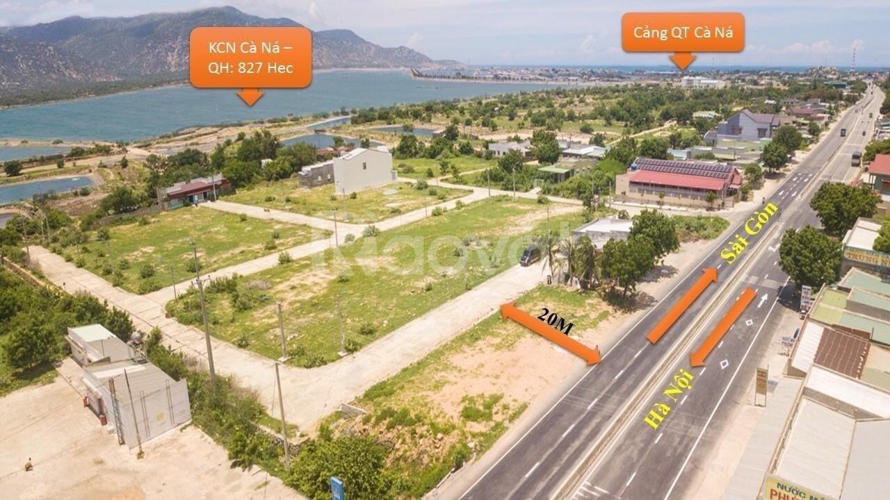 Chủ cần bán nhanh 2 lô đất nền cạnh quốc lộ 1A, cảng biển quốc tế lớn