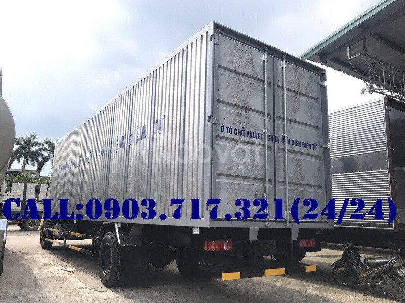 Xe tải Dongfeng B180 chở linh kiện điện tử mới 2019 tiêu chuẩn Euro 5