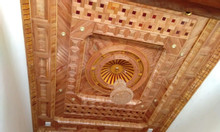 Ốp trần gỗ  tự nhiên