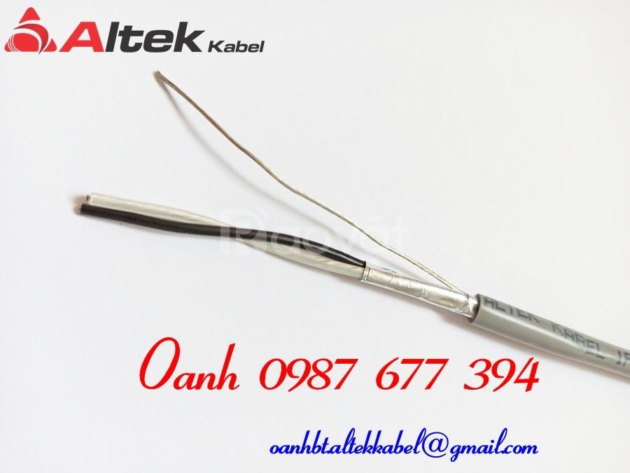 Cáp truyền tín hiệu Altek Kabel 1 Pair 18AWG